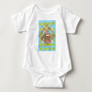 Hamster Ferris Wheel Babygro Baby Bodysuit
