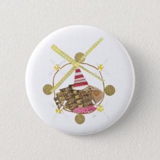 Hamster Ferris Wheel Badge