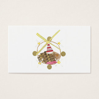 Hamster Ferris Wheel Business Cards