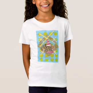 Hamster Ferris Wheel Girl's T-Shirt