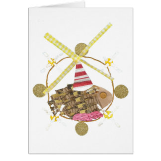 Hamster Ferris Wheel Greeting Card
