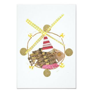 Hamster Ferris Wheel Invitations