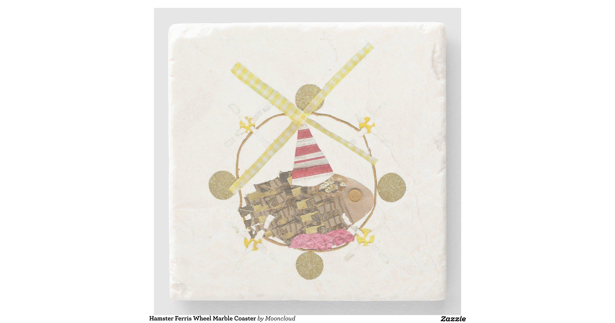 Marble Coster Wheels : Hamster ferris wheel marble coaster stone zazzle