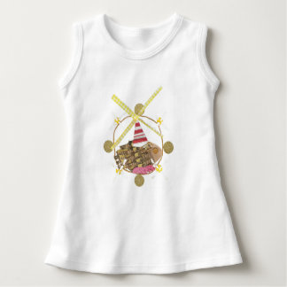 Hamster Ferris Wheel No Background Baby Dress