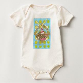Hamster Ferris Wheel Organic Babygro Baby Bodysuit