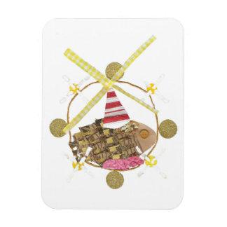 Hamster Ferris Wheel Photo Magnet