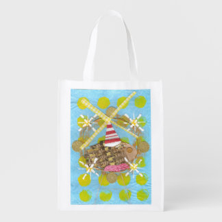 Hamster Ferris Wheel Reusable Bag