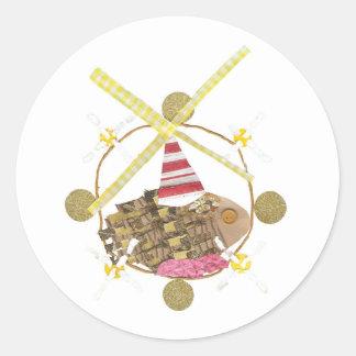 Hamster Ferris Wheel Stickers