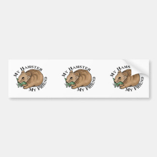 Hamster Friend Bumper Sticker