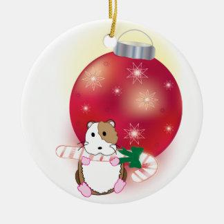 Hamster Holidays Christmas Ornament