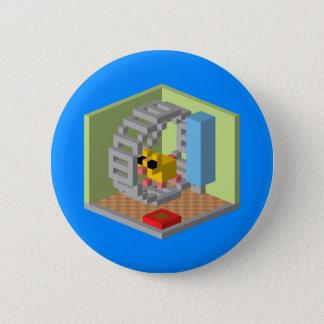 Hamster House 6 Cm Round Badge