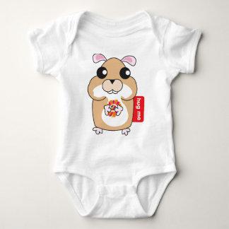 Hamster - Hug Me Baby Bodysuit