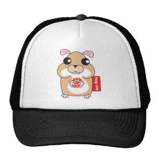 Hamster - Hug Me Cap