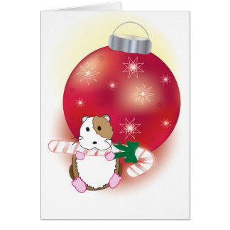 Hamster-iffic Christmas Note Card