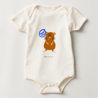 Hamster Inside Baby Bodysuit