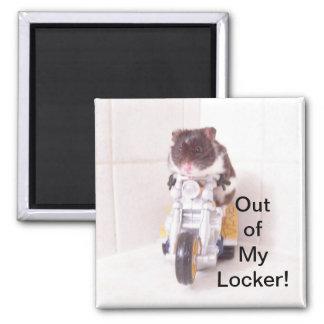 Hamster Locker Magnet