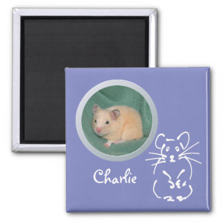 Hamster Memory Add a Photo Magnet
