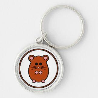 Hamster 'myham' premium keyring keychain