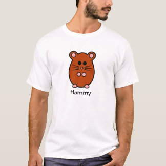 Hamster 'MyHam' T-Shirt (+ Name)