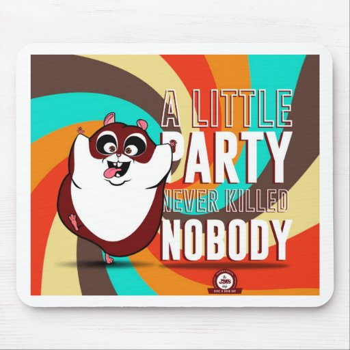 Hamster Party Mouse Pad