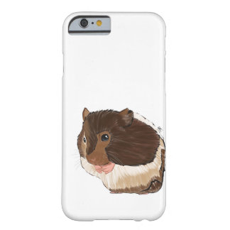 Hamster Phone Case, Hamster Illustration Barely There iPhone 6 Case