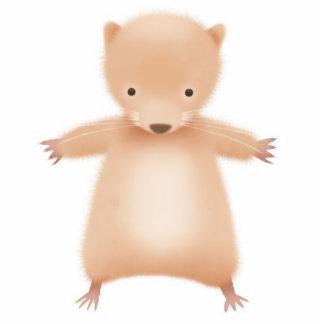 Hamster - photo sculpture