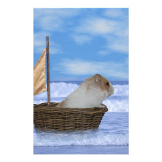 Hamster Sailor Stationery