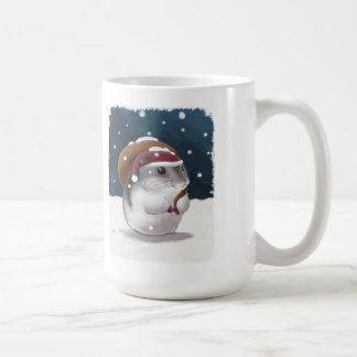 Hamster Santa Coffee Mug
