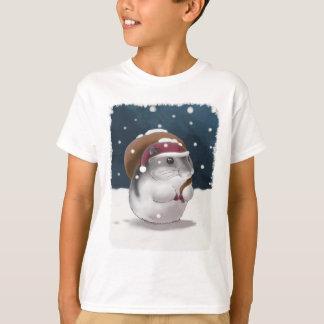 Hamster Santa T-Shirt