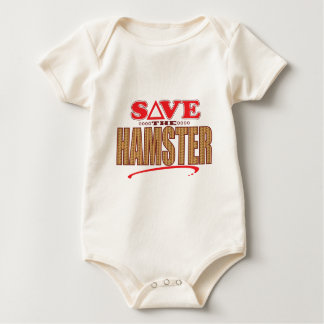 Hamster Save Baby Bodysuit