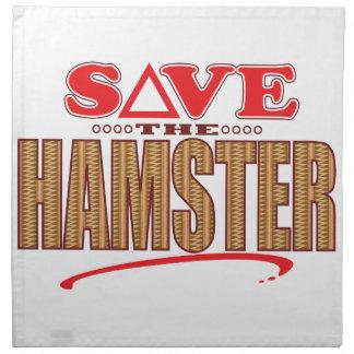 Hamster Save Napkin