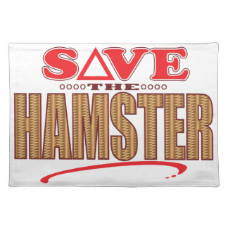 Hamster Save Placemat