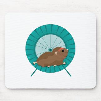 Hamster Treadmill Mouse Pad