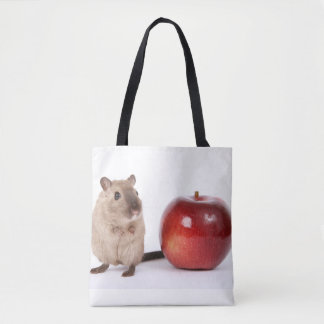 Hamster with Apple Tote