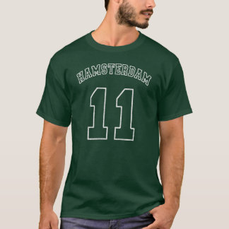 Hamsterdam #11 Football Jersey Dark T-Shirt