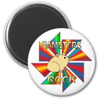 Hamsters Rock Magnet
