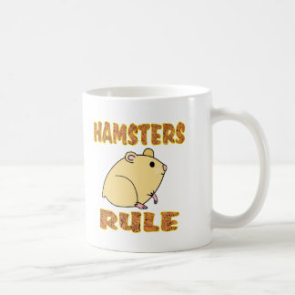 HAMSTERS RULE COFFEE MUG