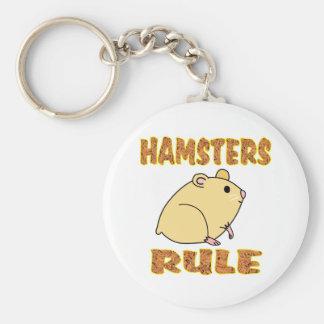 HAMSTERS RULE KEY RING