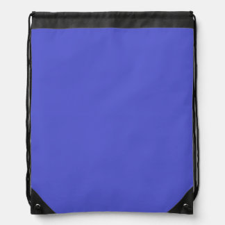 HAN BLUE (solid color) ~ Drawstring Bags