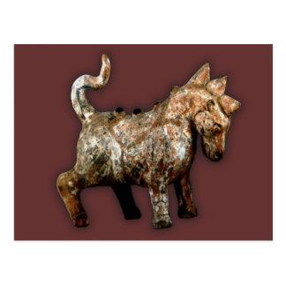 Han Dynasty artifact terracotta horse Postcard