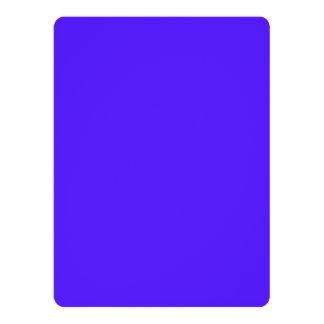 """Han Purple Classic Colored 6.5"""" X 8.75"""" Invitation Card"""