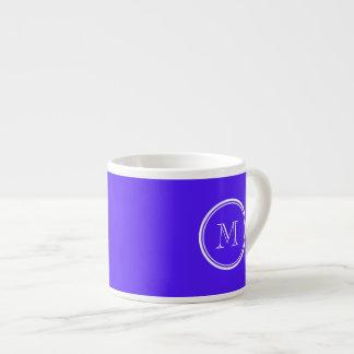 Han Purple High End Colored Monogram Espresso Mug