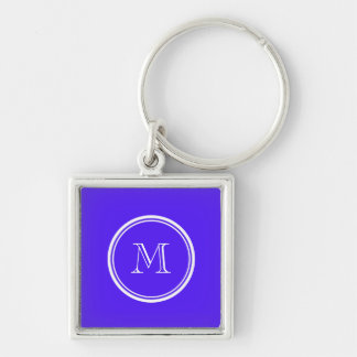Han Purple High End Colored Monogram Keychain