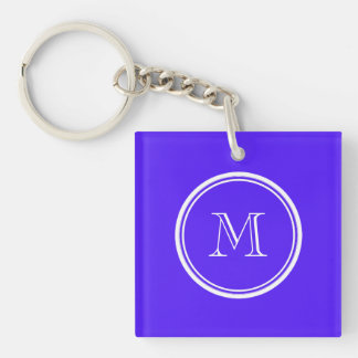 Han Purple High End Colored Monogram Acrylic Key Chains
