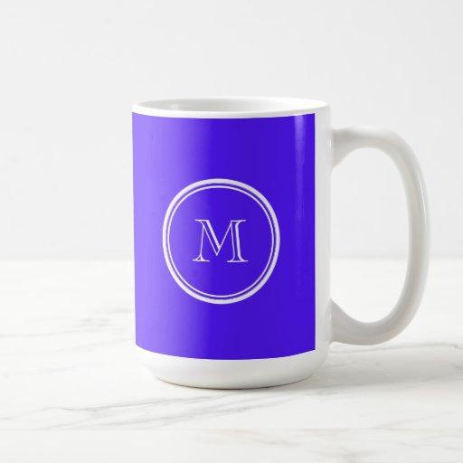 Han Purple High End Colored Monogram Mug