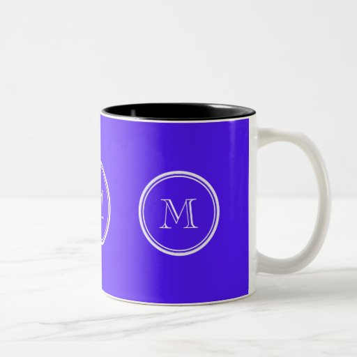 Han Purple High End Colored Monogram Mugs