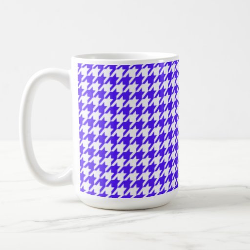 Han Purple Houndstooth Coffee Mugs