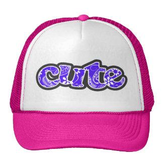 Han Purple Paisley; Floral Trucker Hat