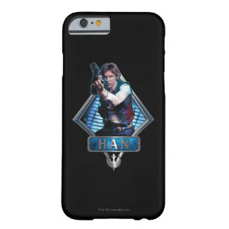 Han Solo Graphic Barely There iPhone 6 Case