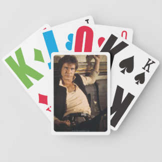 Han Solo Movie Photograph Poker Deck